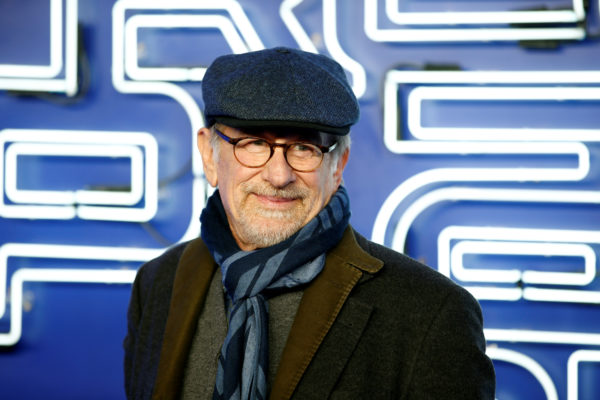 Director and producer Steven Spielberg attends the European Premiere of Ready Player One in London, Britain. Photo by Henry Nicholls/Reuters