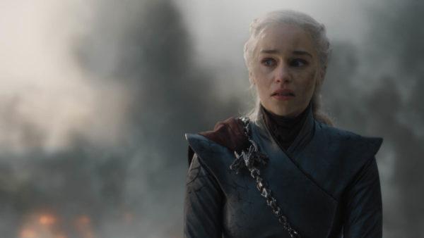 """Actor Emilia Clarke as Daenerys Targaryen in """"Game of Thrones."""" Photo by Helen Sloan/HBO"""