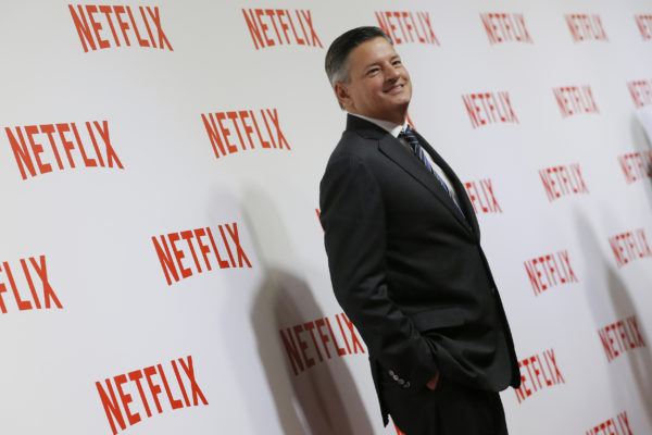 Ted Sarandos, Chief Content Officer of Netflix, attends a red carpet event as Netflix launches its video streaming service in France in Paris September 15, 2014. Photo by Gonzalo Fuentes/Reuters