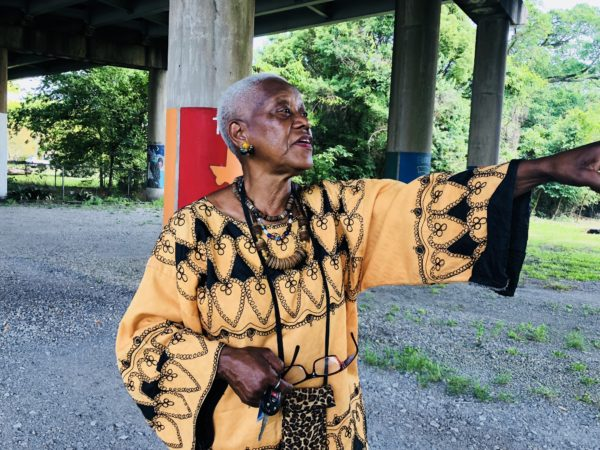 Baton Rouge African American Museum founder Sadie Roberts-Joseph gives a tour of the museum, formerly known as the Odell S. Williams Now and Then Museum of African- American History. Photo taken on May 2, 2018. Photo courtesy of Visit Baton Rouge