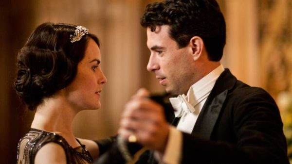 """Michelle Dockery, who plays Lady Mary Crawley in """"Downton Abbey"""" and is pictured here with Tom Cullen who plays Lord Gillingham, received a nomination as best actress in a drama series. Photo courtesy of PBS' Masterpiece"""