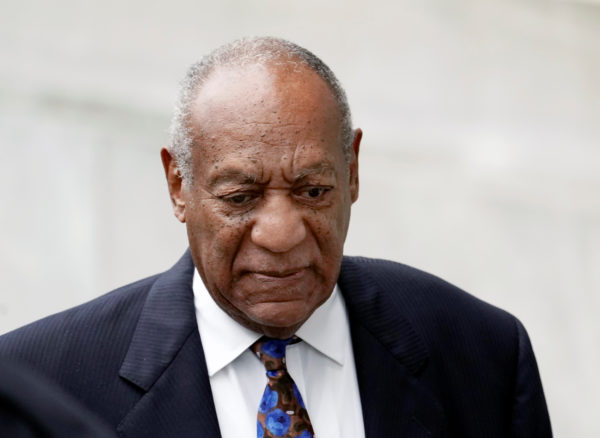 Actor and comedian Bill Cosby arrives at the Montgomery County Courthouse for sentencing in his sexual assault trial in Norristown, Pennsylvania. Photo by Jessica Kourkounis/Reuters
