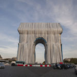 The Triumphal Arch In Paris Is Covered