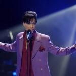 """Prince performs in a surprise appearance on the """"American Idol"""" television show finale in 2006. Photo by Chris Pizzello/Reuters"""