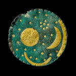 The Nebra Sky Disc, an ancient object thought to be world's oldest map of stars - believed to be 3,600 years old, dating from