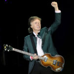 """FILE PHOTO: Paul McCartney performs during the """"One on One"""" tour concert in Porto Alegre"""