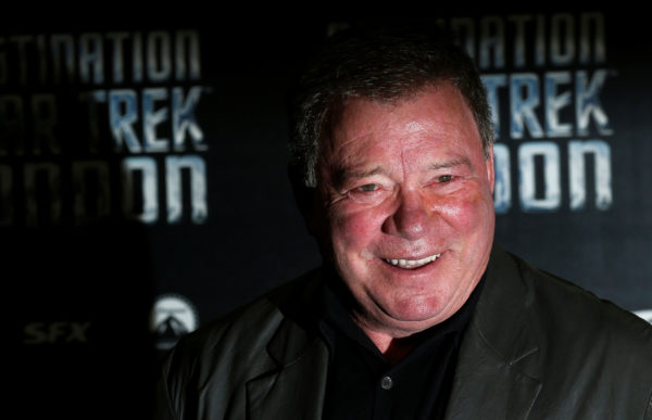 FILE PHOTO: Shatner who plays Captain James T. Kirk in the original version of Star Trek arrives at the Destination Star T...